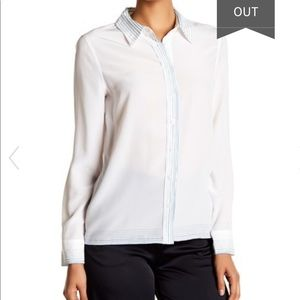 Silk M BUTTON DOWN equipment femme long sleeve